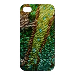 Chameleon Skin Texture Apple Iphone 4/4s Premium Hardshell Case by BangZart
