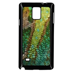 Chameleon Skin Texture Samsung Galaxy Note 4 Case (black) by BangZart