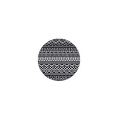 Aztec Pattern Design 1  Mini Buttons by BangZart