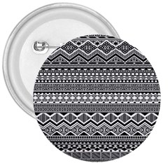 Aztec Pattern Design 3  Buttons by BangZart