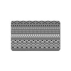 Aztec Pattern Design Magnet (name Card) by BangZart
