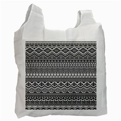Aztec Pattern Design Recycle Bag (one Side) by BangZart