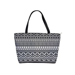 Aztec Pattern Design Shoulder Handbags by BangZart