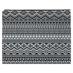 Aztec Pattern Design Cosmetic Bag (xxxl)  by BangZart