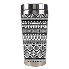 Aztec Pattern Design Stainless Steel Travel Tumblers by BangZart