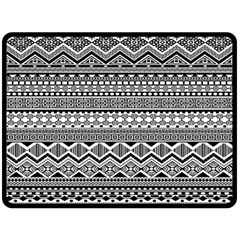 Aztec Pattern Design Double Sided Fleece Blanket (large)  by BangZart