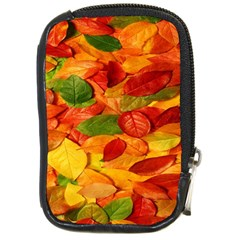Leaves Texture Compact Camera Cases by BangZart