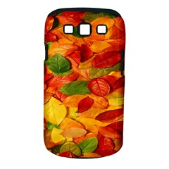 Leaves Texture Samsung Galaxy S Iii Classic Hardshell Case (pc+silicone) by BangZart