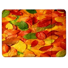Leaves Texture Samsung Galaxy Tab 7  P1000 Flip Case