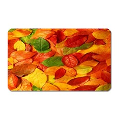 Leaves Texture Magnet (rectangular) by BangZart