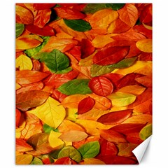 Leaves Texture Canvas 20  X 24   by BangZart