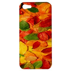 Leaves Texture Apple Iphone 5 Hardshell Case