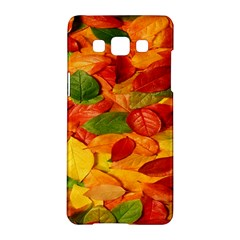 Leaves Texture Samsung Galaxy A5 Hardshell Case  by BangZart