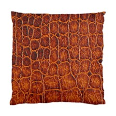 Crocodile Skin Texture Standard Cushion Case (two Sides) by BangZart