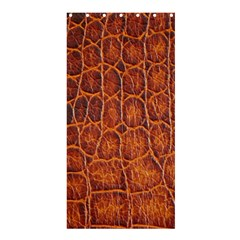 Crocodile Skin Texture Shower Curtain 36  X 72  (stall)  by BangZart