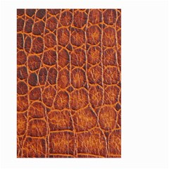 Crocodile Skin Texture Large Garden Flag (two Sides) by BangZart