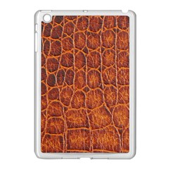Crocodile Skin Texture Apple Ipad Mini Case (white) by BangZart