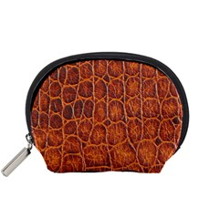 Crocodile Skin Texture Accessory Pouches (small)  by BangZart