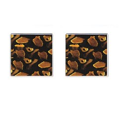 Gold Snake Skin Cufflinks (square) by BangZart