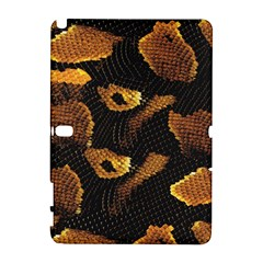 Gold Snake Skin Galaxy Note 1 by BangZart