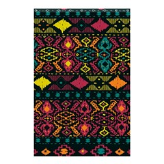 Bohemian Patterns Tribal Shower Curtain 48  X 72  (small)  by BangZart