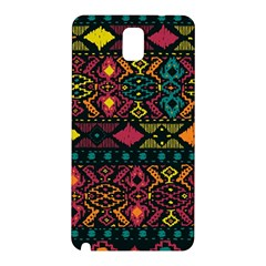 Bohemian Patterns Tribal Samsung Galaxy Note 3 N9005 Hardshell Back Case by BangZart
