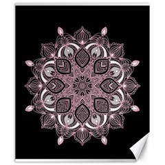 Ornate Mandala Canvas 20  X 24   by Valentinaart