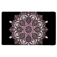 Ornate Mandala Apple Ipad 2 Flip Case by Valentinaart