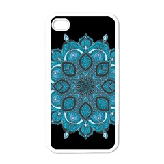 Ornate Mandala Apple Iphone 4 Case (white) by Valentinaart