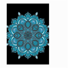 Ornate Mandala Small Garden Flag (two Sides) by Valentinaart