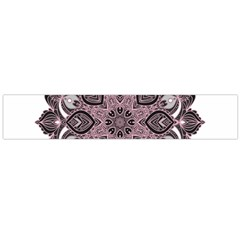 Ornate Mandala Flano Scarf (large) by Valentinaart