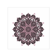 Ornate Mandala Small Satin Scarf (square)