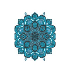 Ornate Mandala Shower Curtain 48  X 72  (small)  by Valentinaart