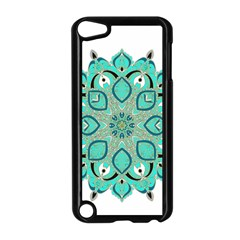 Ornate Mandala Apple Ipod Touch 5 Case (black) by Valentinaart