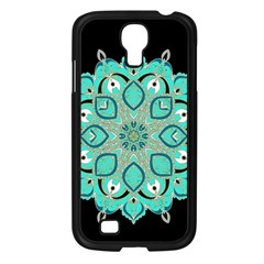 Ornate Mandala Samsung Galaxy S4 I9500/ I9505 Case (black) by Valentinaart