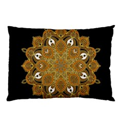 Ornate Mandala Pillow Case (two Sides)