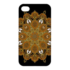 Ornate Mandala Apple Iphone 4/4s Hardshell Case by Valentinaart