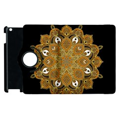 Ornate Mandala Apple Ipad 3/4 Flip 360 Case by Valentinaart