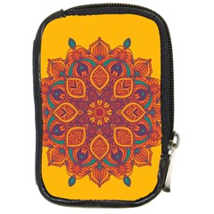 Ornate Mandala Compact Camera Cases by Valentinaart