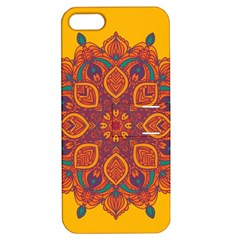 Ornate Mandala Apple Iphone 5 Hardshell Case With Stand by Valentinaart