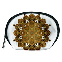 Ornate Mandala Accessory Pouches (medium)  by Valentinaart