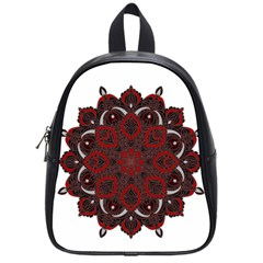 Ornate Mandala School Bags (small)  by Valentinaart