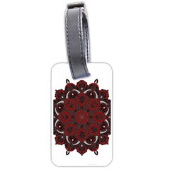Ornate Mandala Luggage Tags (two Sides)