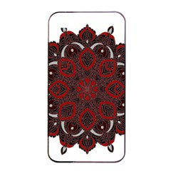 Ornate Mandala Apple Iphone 4/4s Seamless Case (black) by Valentinaart