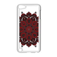 Ornate Mandala Apple Ipod Touch 5 Case (white) by Valentinaart