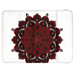 Ornate Mandala Samsung Galaxy Tab 7  P1000 Flip Case by Valentinaart