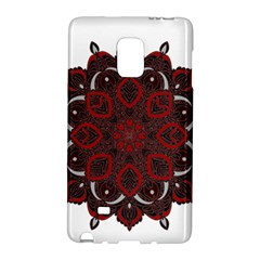 Ornate Mandala Galaxy Note Edge by Valentinaart