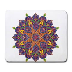 Ornate Mandala Large Mousepads by Valentinaart