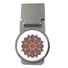 Ornate Mandala Money Clips (round)
