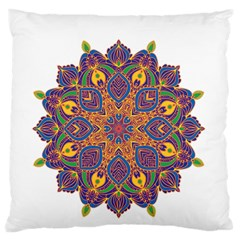 Ornate Mandala Standard Flano Cushion Case (one Side) by Valentinaart